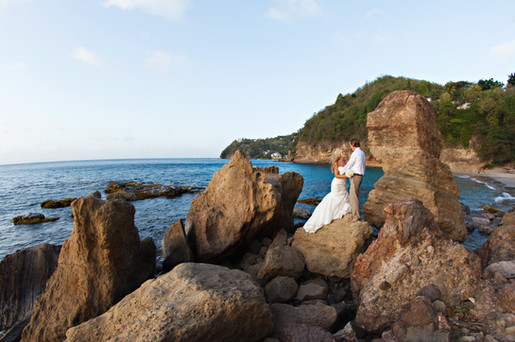 St Lucia Wedding Photographer Smugglers Cove