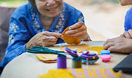 Ergothérapie femme âgée Sarthe