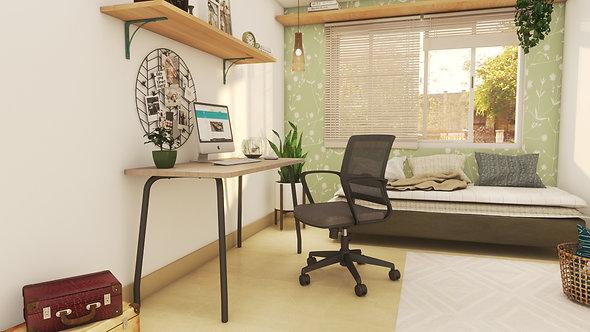 Combo Studio N/A Silla Skin Grey/Black
