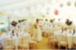 Frame Marquee Interior with Bride