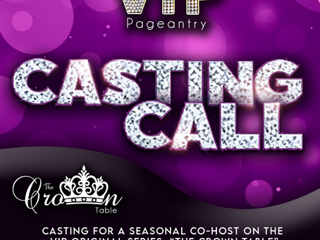 CASTING CALL | The Crown Table