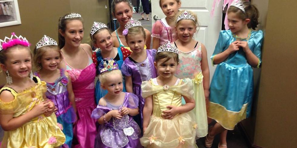 3rd Annual Princess Camp