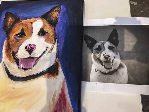 Pet Portrait Deposit