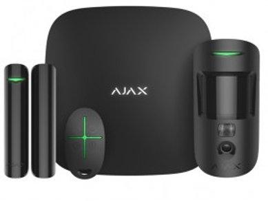 Ajax Starterkit 2, Funk-Alarmanlage Set (Hub 2) mit MotionCam, Ethernet, 2G