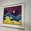 Thumbnail: Night Flight Over Pyramid by Angel (Framed)