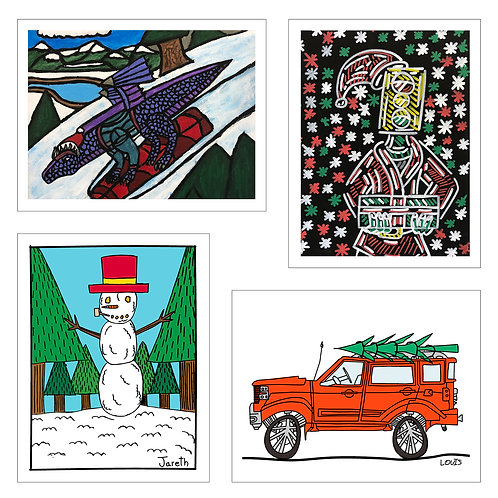Holiday Greeting Cards 12 pack
