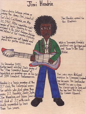 Jimmy Hendrix - Jareth C.
