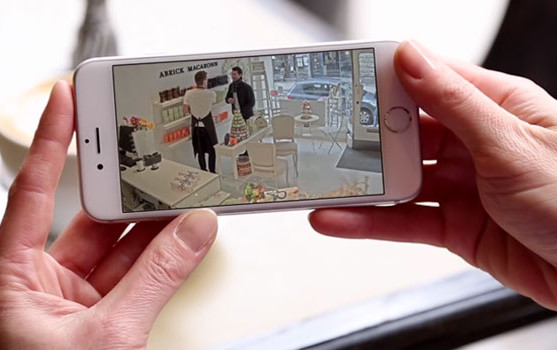Videomanagement App auf dem Handy