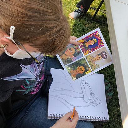 Nicole sketching.jpg