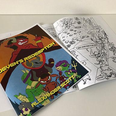 Deven's Redemption Comic by Alexander