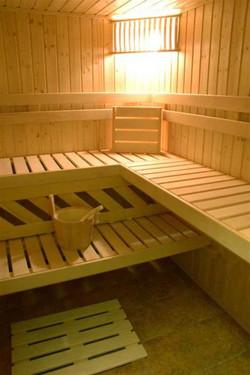 Sauna at Hotel Sante