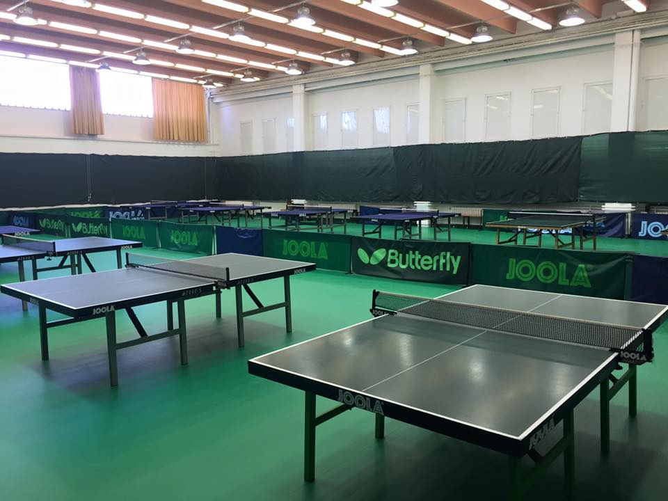 The Table Tennis Hall