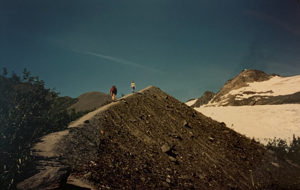 Hiking Denali with Grandpa
