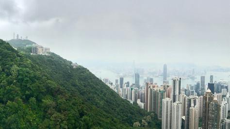 A kid at heart in Hong Kong