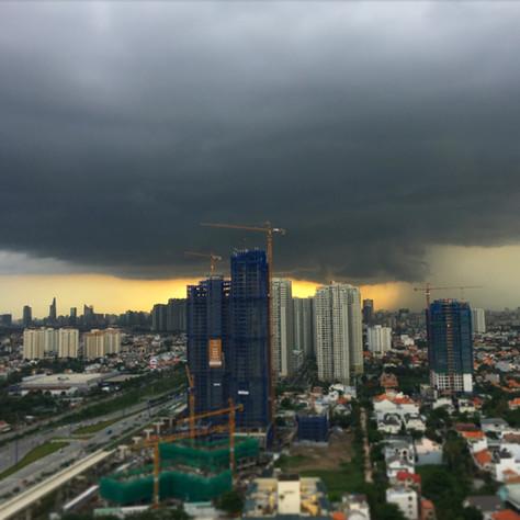 Saigon's rainy season is in full swing!