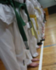 Schüler des TKD Duisburg 2001