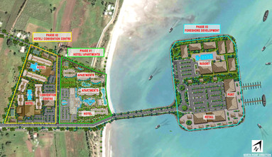 Fiji Plaza Master Phases Plan