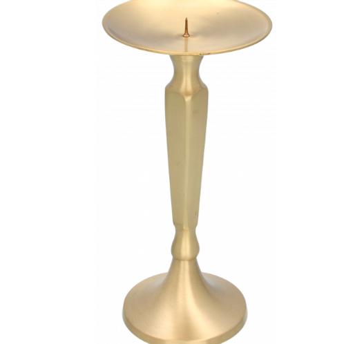 Kultainen kynttilänjalka 24cm