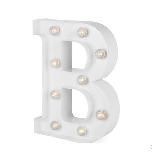 BAR - valot valkoinen