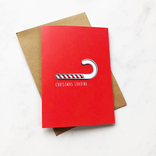Pack of 5 - Christmas Loading Christmas Cards