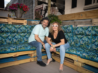 Owners of Ampia Rooftop Restaurant