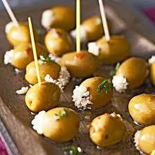 Gorgonzola Stuffed Olives