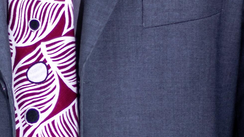 Maroon Fish Tie