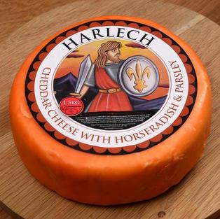 Harlech Cheddar (England)
