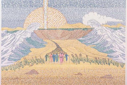 Splitting of the Sea by Menachem Boas