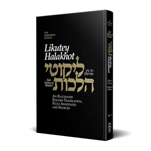 Likutey Halakhot, volume 1