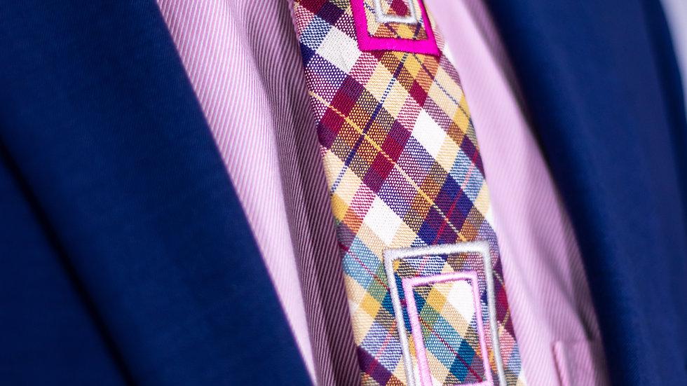 AutumnPlaid Tie