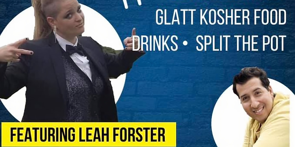 JB Marketing  Presents & Purim comedy night featuring Leah Forster & Danny Cohen