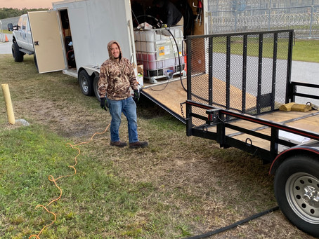 November 2019- Federal Correction Facility in Florida-Generator Maintenance.