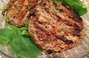 Chicken Patties with Sundried Tomatoes