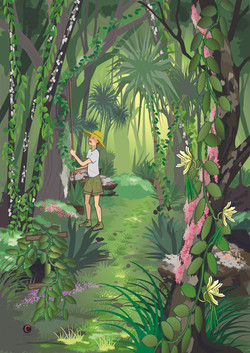 Illustration murale - Provanille_Version