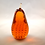 Thumbnail: Whitefriars 1980 Art Glass Pear in Gold