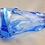 Thumbnail: Mega Rare Uncatalogued Whitefriars Sky Blue Knobbly Lamp Base