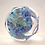 Thumbnail: Whitefriars Floral Lace Twist Paperweight