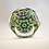 "Thumbnail: Unusual Whitefriars Design Trial ""Spray Lace Twist"" Paperweight on Light Green"