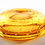 Thumbnail: Whitefriars Controlled Bubble Bowl / Pin Dish in Golden Amber