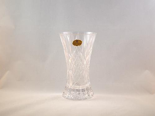 Whitefriars Cut Crystal Vase