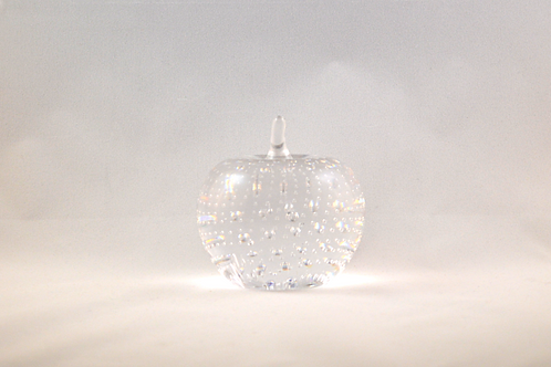 Whitefriars 1980 Apple Paperweight in Flint