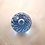 Thumbnail: Large Whitefriars Bubble Paperweight in Sapphire Blue