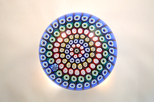 Whitefriars Design Trial 1980 Concentric Paperweight