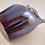 Thumbnail: Ray Annenberg Art Glass Bubbled Owl in Liquid Metal