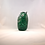 Thumbnail: Ray Annenberg Art Glass Bubbled Owl in Cased Green