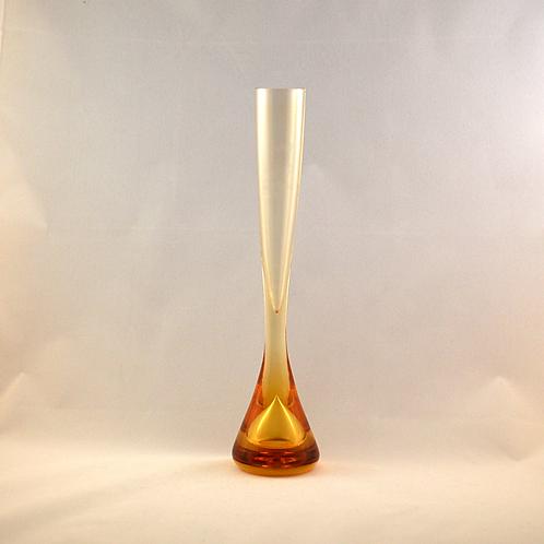 Whitefriars 1978-80 FLC Gold Teardrop Vase