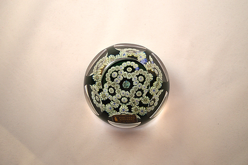 Whitefriars Millefiori Garland Paperweight on DB
