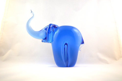Whitefriars Mega Rare Elephant in FLC Sky Blue