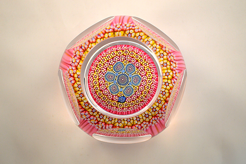 Whitefriars Beautiful Pre-production P25 Closepack Paperweight